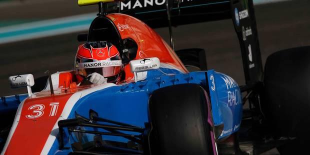 Formule 1: Déjà placée en redressement judiciaire, Manor cesse ses activités - La DH