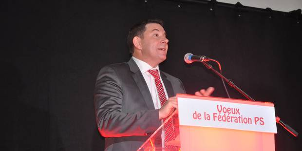 """Dimitri Legasse (PS) """"Aujourd'hui, nous sommes rouges de colère"""" - La DH"""