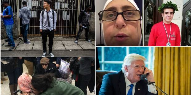 Orphelin, étudiant, octogénaires: ces vies affectées par le décret anti-immigation de Trump - La DH