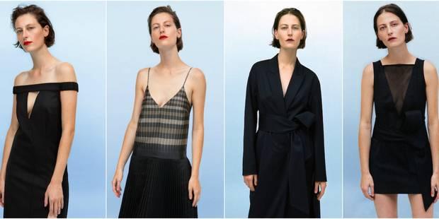 Léa Peckre réinterprète la petite robe noire pour la Redoute - La DH