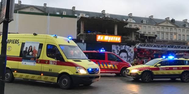 Bruxelles-Ville: un ouvrier enseveli sous un mur - La DH