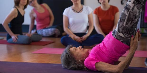 A 98 ans, Tao est toujours professeur de yoga ! - La DH