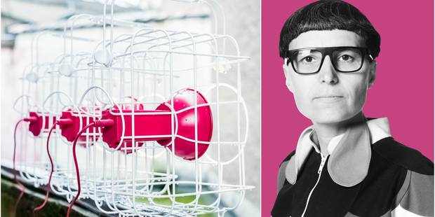 """Matali Crasset nous raconte sa lampe Ikea : un vrai """"petit animal de compagnie"""" ! - La DH"""