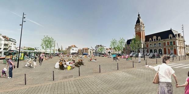 Laeken: Bientôt la fin du parking sauvage sur la place Bockstael - La DH