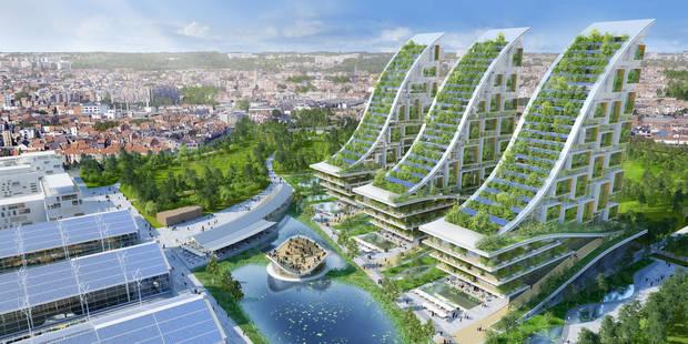 L'incroyable projet de Vincent Callebaut pour Tour&Taxis - La DH