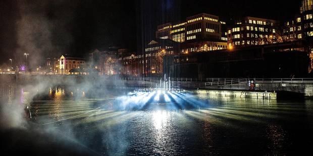 Le canal de Bruxelles en mode bright jusqu'à dimanche (PHOTOS & VIDEO) - La DH