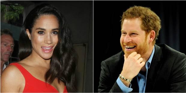 Prince Harry et Meghan Markle : une nouvelle photo du couple amoureux - La DH