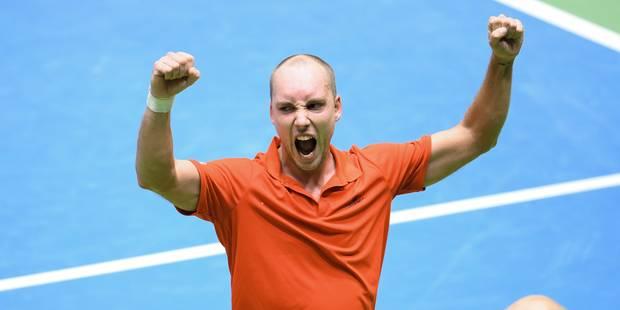 """Steve Darcis: """"La magie de la Coupe Davis a encore opéré"""" - La DH"""