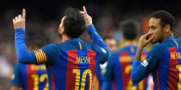 Liga: le Barça sans forcer, le Real menacé - La DH