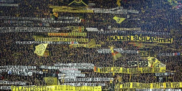 Les fans de Leipzig chassés à coups de canettes à Dortmund (VIDEO) - La DH