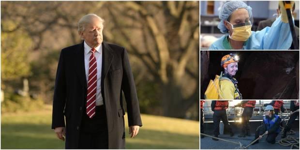"""Trump veut que les femmes """"s'habillent comme des femmes""""... Elles lui répondent - La DH"""