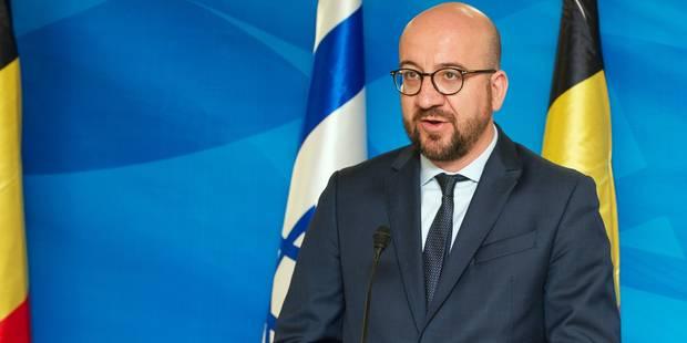 Charles Michel condamne la loi israélienne légalisant la colonisation - La DH