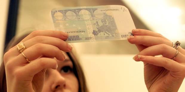 Nivelles : 365.000 euros en fausses coupures - La DH