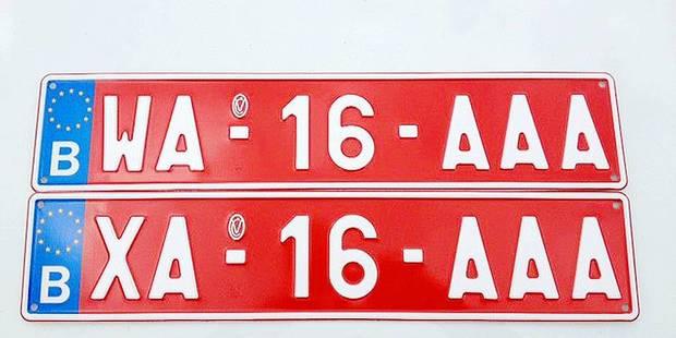 """Les plaques transit """"W"""" font perdre des recettes à l'État - La DH"""
