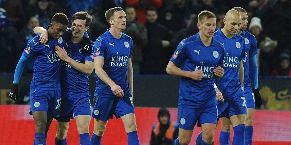 FA: Cup: Leicester en 8e de finale