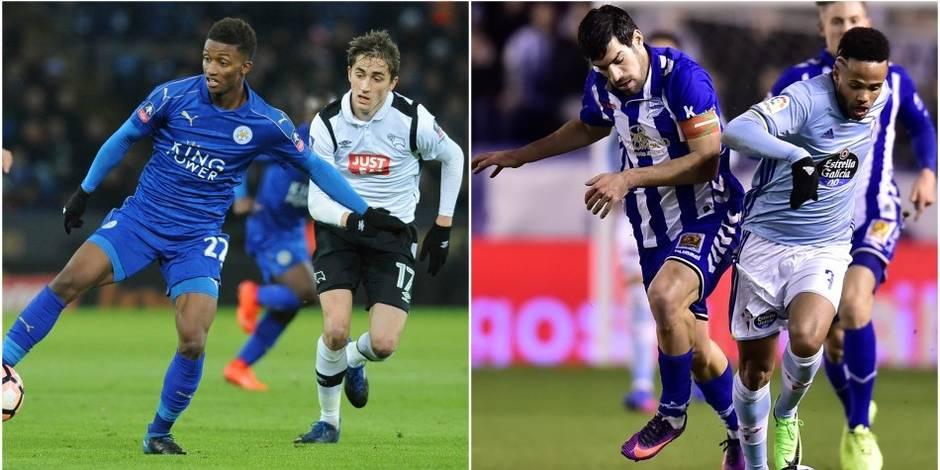 Les Belges à l'étranger: Julien de Sart et Théo Bongonda éliminés en Coupe