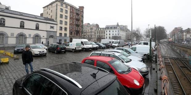 Bruxelles: La fin du parking sauvage sur le boulevard Poincaré - La DH
