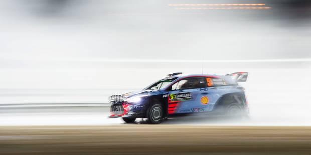 Rallye de Suède: Neuville en tête, Ogier 5e après l'ES6 - La DH