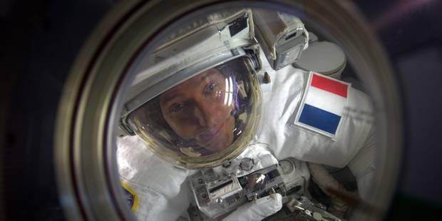 Depuis l'ISS, Thomas Pesquet photographie la Belgique de nuit... Voici comment il l'a repérée (PHOTO) - La DH