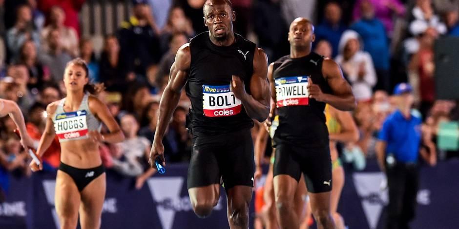 Bolt fait son retour depuis les JO de Rio et... gagne