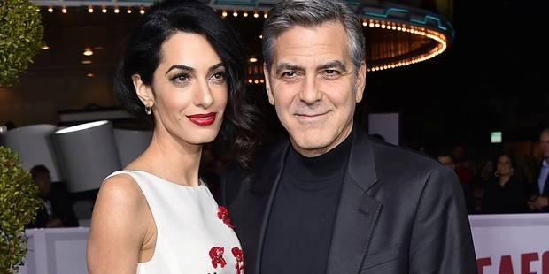 Amal et George Clooney: ce sera un garçon et une fille! - La DH
