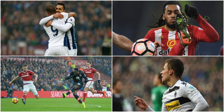 Belges à l'étranger: Thorgan Hazard décisif, Chadli plante un but somptueux, Denayer marque... contre son camp (VIDEOS)