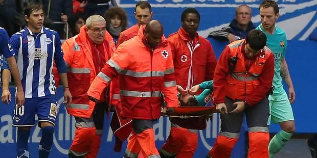 L'horrible blessure du Barcelonais Aleix Vidal (VIDEO) - La DH