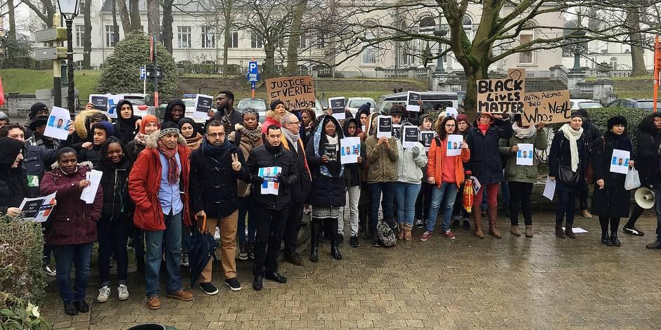 Marche pour Naithy, agressé par un chauffeur De Lijn