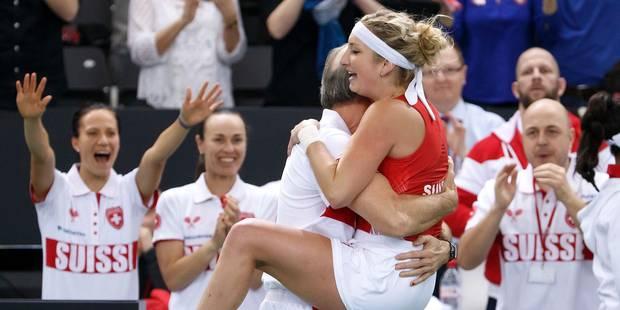 Fed Cup: la France éliminée par la Suisse, les Américaines s'en sortent contre l'Allemagne - La DH
