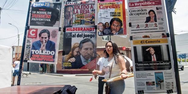 """Le Pérou demande à Trump d'""""étudier la possibilité"""" d'extrader son ancien président - La DH"""