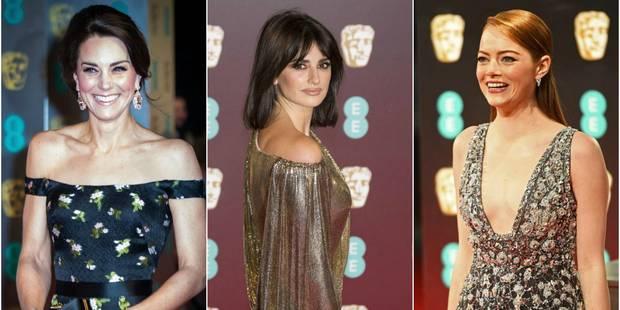 Prix du cinéma et de la télévision britanniques : toutes les stars étaient là et Kate Middleton aussi ! - La DH