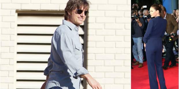 Tom Cruise: le célibat c'est fini grâce à une belle actrice brune !