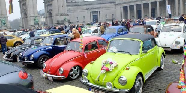 Bruxelles : le Cinquantenaire envahi par des Coccinelles fleuries - La DH