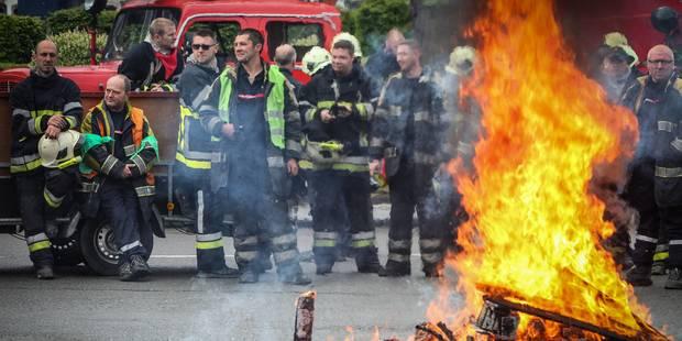 Mons : nouveau mouvement de grogne des pompiers ce mardi - La DH