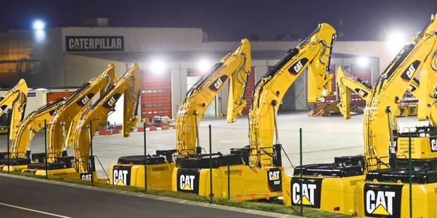 Fermeture de Caterpillar Gosselies: les syndicats reconnaissent des avancées dans les négociations - La DH