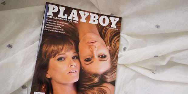 Un an après avoir renoncé à la nudité, Playboy y revient - La DH