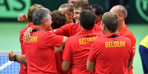 Coupe Davis: Belgique-Italie se jouera au Spiroudome - La DH