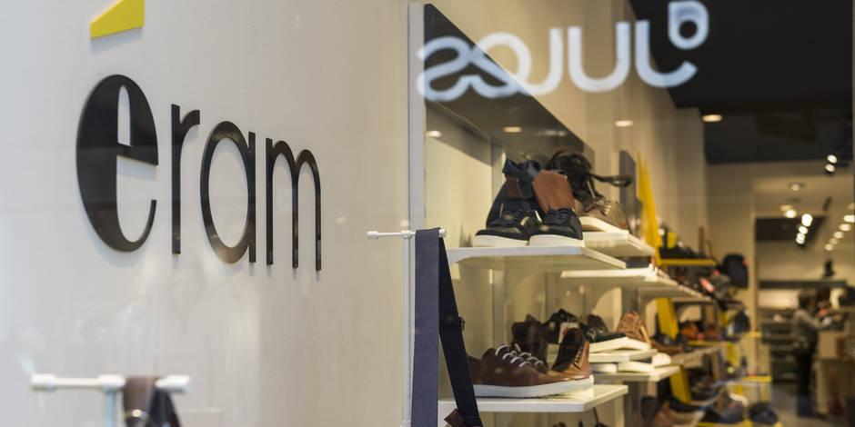 Eram ferme ses boutique en Belgique mais se diversifie avec un e-shop consacré aux chaussures haut de gamme