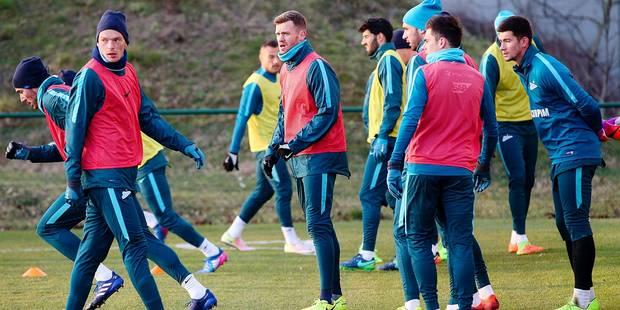 Le Zenit se prépare à affronter Anderlecht en s'entraînant... chez les Diables - La DH