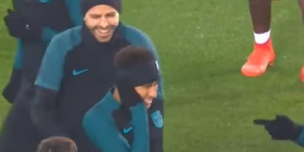 Neymar change de look et... se fait chambrer par ses coéquipiers du Barça (VIDEO) - La DH
