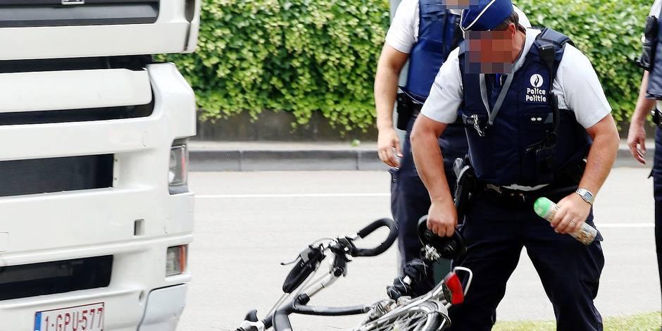 Des capteurs belges pour éradiquer l'angle mort des camions - La DH