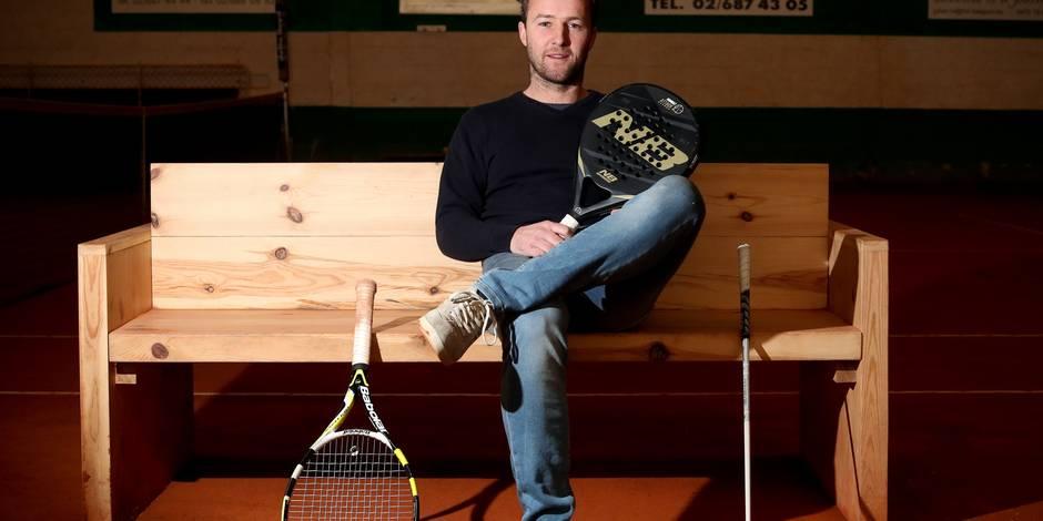 Entre tennis, golf et padel, Christophe Rochus est un éternel enfant de la balle - La DH