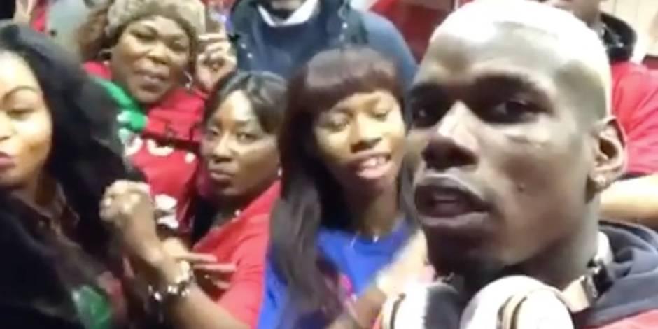 """Paul Pogba lance """"La Pogbance"""" en famille (VIDEO)"""