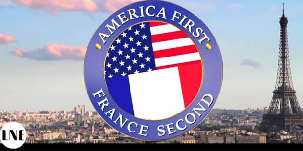"""""""America First, France second"""", nos voisins ont enfin leur parodie de Donald Trump - La DH"""