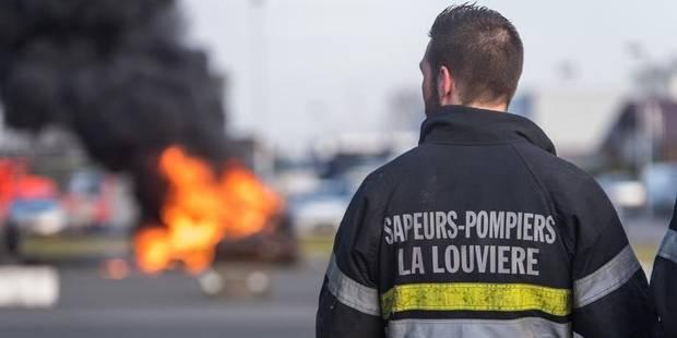 La Louvière: des citoyens prêts à soutenir les pompiers - La DH