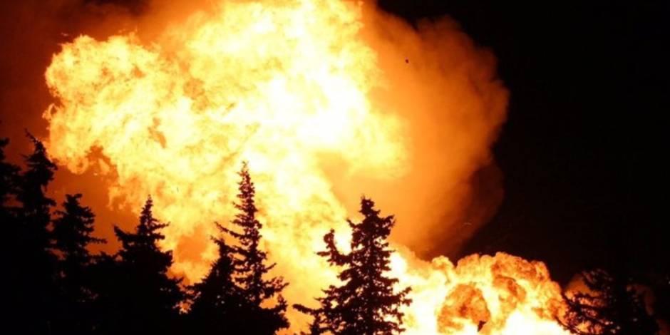 Près de 2.000 bonbonnes de gaz explosent dans une entreprise du sud de la France