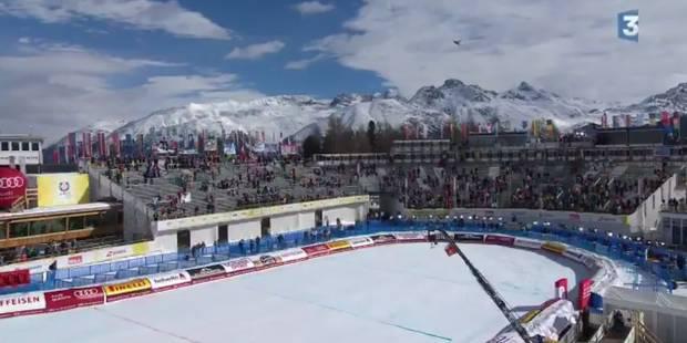 Un avion provoque la chute d'une caméra sur la piste des Mondiaux de ski (VIDEO) - La DH