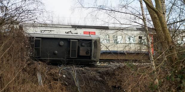 Accident de train à Louvain: une voie supplémentaire libérée - La DH