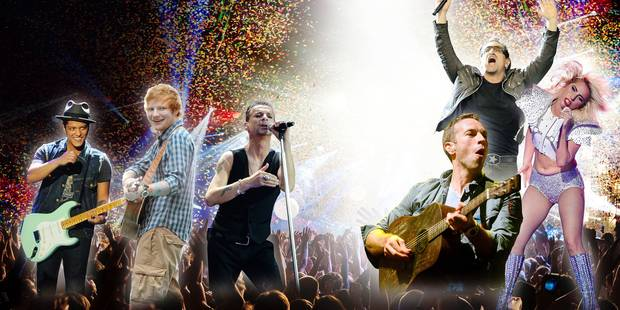 U2, Bruno Mars, Lady Gaga,... quand les stars envahissent la Belgique, c'est sold-out ! - La DH