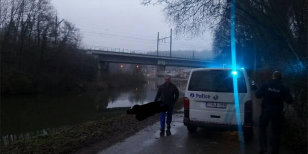 Landelies: les plongeurs remontent le corps d'un automobiliste noyé - La DH